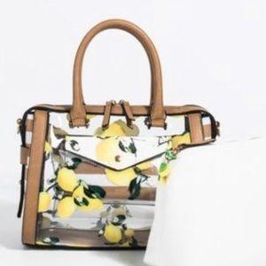 Handbags - Unique lemon print bag